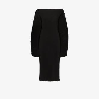 Totême Mia Vana off-the-shoulder jumper dress