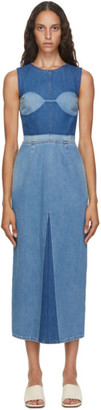 MM6 MAISON MARGIELA Blue Denim Dress