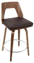 "Lumisource Trilogy 24"" Mid - Century Modern Counter Stool"
