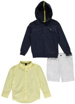 "Nautica Little Boys' Toddler ""Sporty Prep"" 3-Piece Outfit"