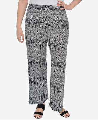 NY Collection Plus Size Printed Lounge Pants
