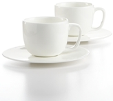 Hotel Collection Dinnerware, Set of 2 Bone China Espresso Cups