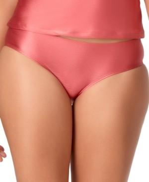 Anne Cole Studio Cinch-Back Bikini Brief Bottoms Women's Swimsuit
