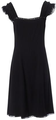 Prada Black Viscose Dresses