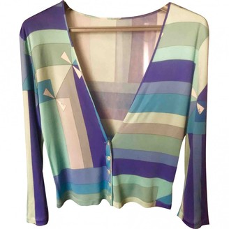 Emilio Pucci Turquoise Knitwear for Women