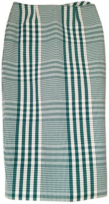 Stella Jean Green Cotton Skirts