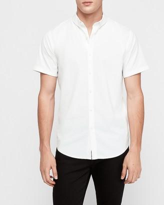 Express Slim Button-Down Wrinkle Resistant Performance Dress Shirt