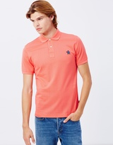 Paul Smith Floral Embroidered Polo