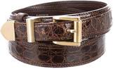 Loewe Crocodile Waist Belt