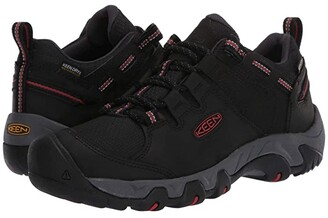 Keen Steens Waterproof (Black/Bossa Nova) Men's Shoes