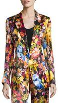 Aquilano Rimondi Floral Printed Blazer