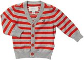 Diesel Kiobob Striped Cardigan (Baby) - Orange-3 Months