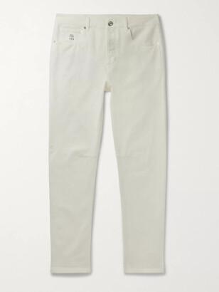 Brunello Cucinelli Slim-Fit Stretch-Denim Jeans