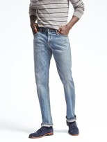 Banana Republic Straight Light Wash Jean
