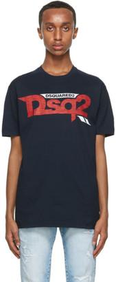 DSQUARED2 Black DSQ2 T-Shirt