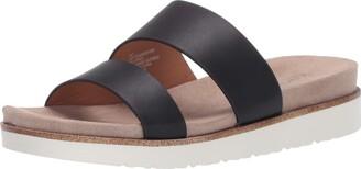 Kensie womens Flat Slide Sandal