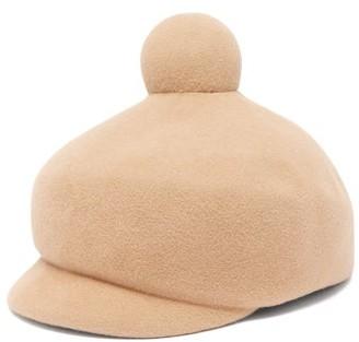 Lola Hats Toy Soldier Felt Beret - Womens - Camel