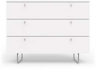 "Spot On Square 45"" Alto Dresser, White"