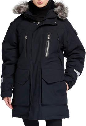 66 North Jokla Waterproof Fur-Trim Down Parka