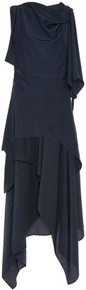 J.W.Anderson Fluid Asymmetric Draped Dress