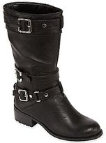 JCPenney Studio Paolo® Rainey Buckle Motorcyle Boots