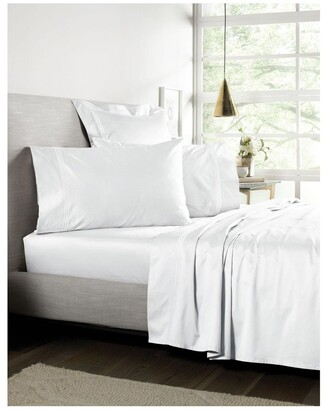 Sheridan Palais Flat Sheet in White White Queen