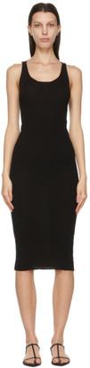 LVIR Black Rib Sleeveless Dress