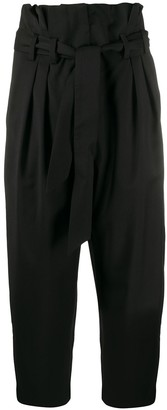 IRO High Rise Cropped Trousers