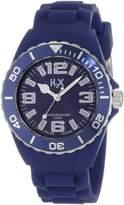 Haurex H2X Women's SB382DB1 Reef Luminous Water Resistant Dark Slate Blue Soft Rubber Watch