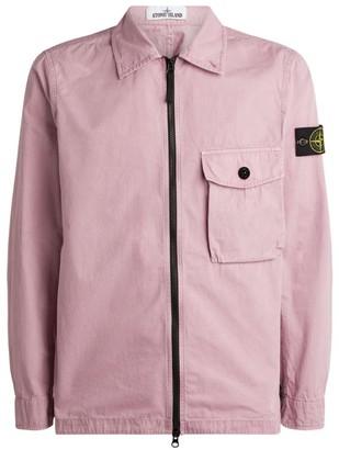 Stone Island Zip-Through Chest Pocket Jacket