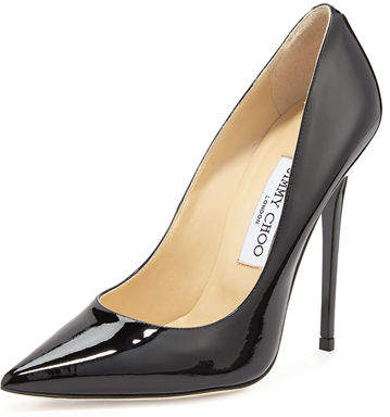 Jimmy Choo Anouk Patent Leather Pump