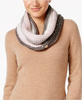 Betsey Johnson Crystal Knit Infinity Scarf