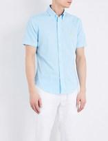 Polo Ralph Lauren Slim-fit cotton seersucker shirt