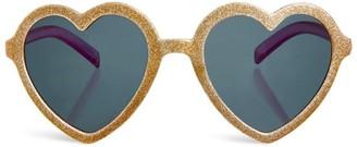 Rockahula Glitter Heart Sunglasses