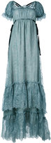 Erdem shift maxi dress - women - Silk/Polyester - 10