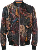 Paul Smith paisley bomber jacket - men - Nylon/Polyamide/Cupro - S