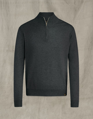 Belstaff Engineered Quarter Zip