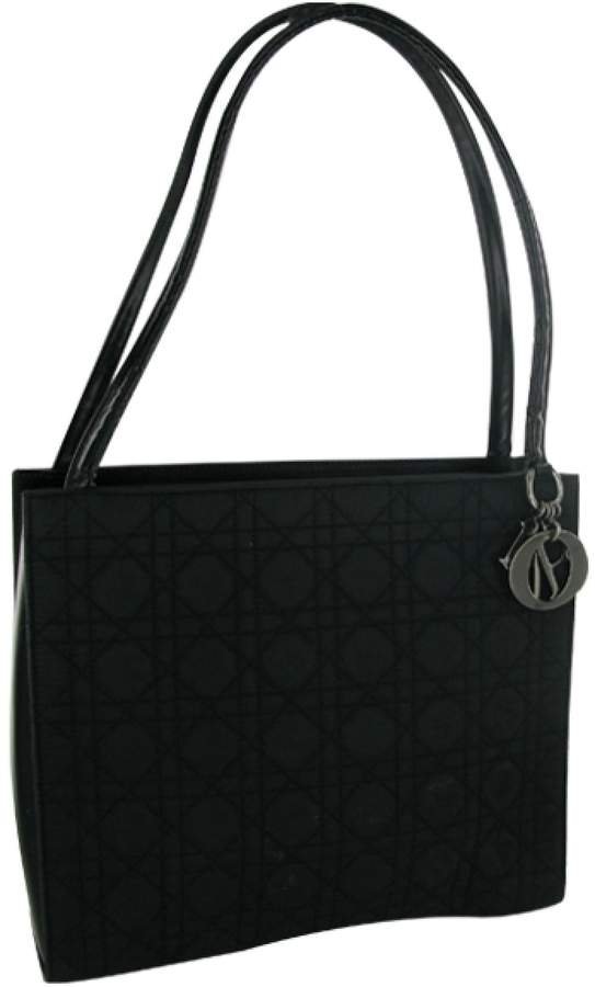 Christian Dior Black Synthetic Handbag Lady