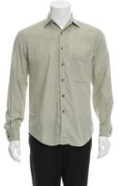 Loewe Woven Button-Up Shirt