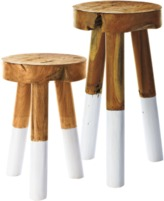 Serena & Lily Dip Dyed Stools