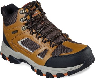 Skechers Relaxed Fit Selmen Regram Men's Waterproof Hiking Boots