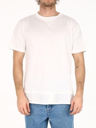 Christian Dior T-shirt Oblique white