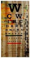 Parvez Taj Eye Chart (Pinewood)