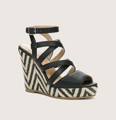 LOFT Krystal Strappy Wedges