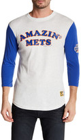 Mitchell & Ness MLB Mets Extra Out 3/4 Length Sleeve Tee