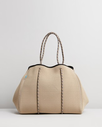 Chuchka - Women's Brown Tote Bags - Jen Neoprene Tote - Size One Size at The Iconic