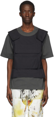 Sankuanz SSENSE Exclusive Green Harness T-Shirt