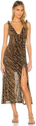 Free People Zahara Midi Dress