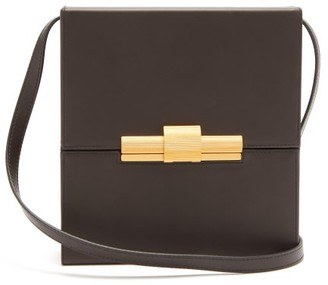 Bottega Veneta Daisey Leather Cross-body Bag - Womens - Brown