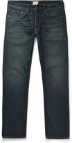 Simon Miller M001 Slim-Fit Distressed Selvedge Denim Jeans